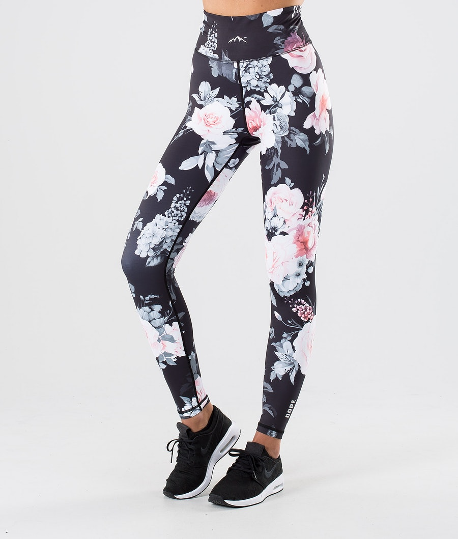 Dope Lofty Leggings Dame Pink Flower
