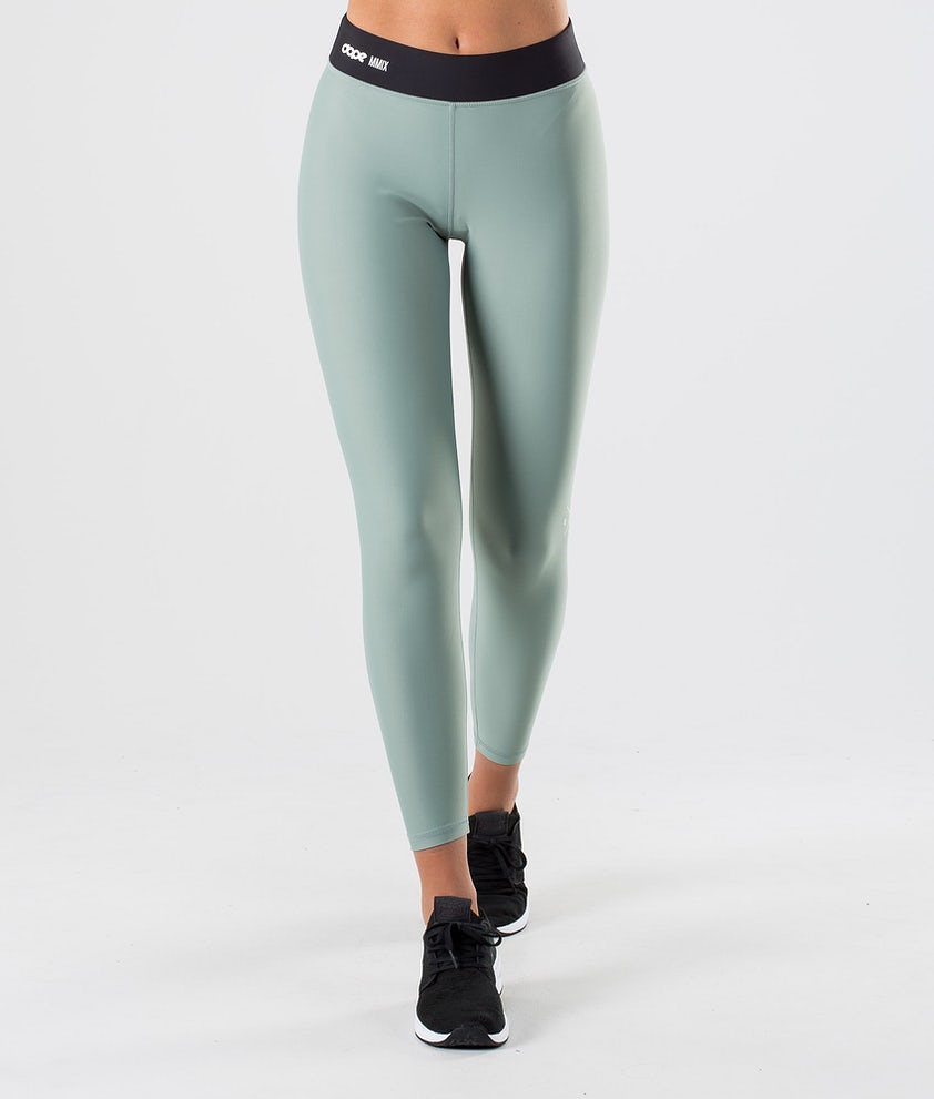 Dope Razor Leggings Faded Green