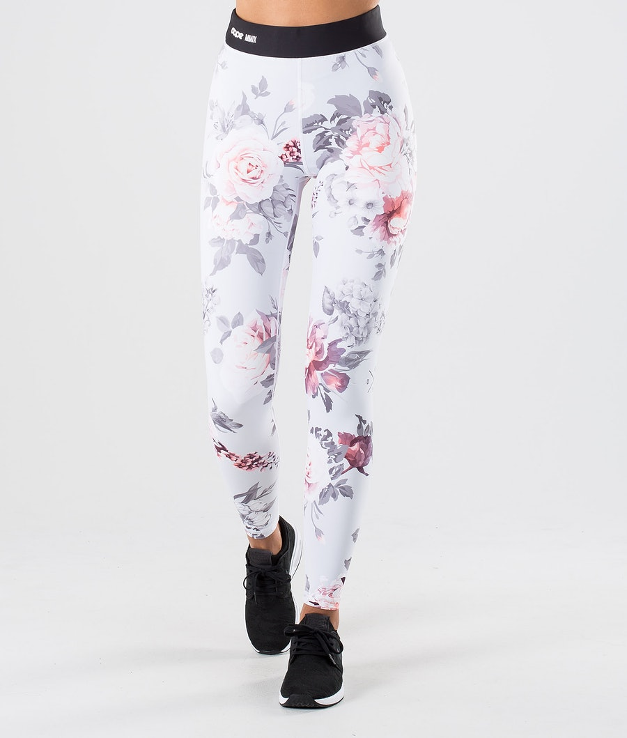 Dope Razor Leggings Dame Grey Flower