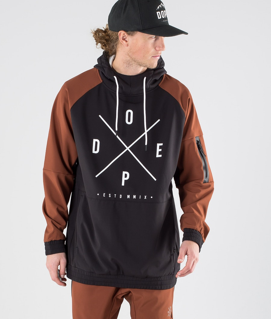 Dope Rambler Outdoor Jacka Adobe/Black