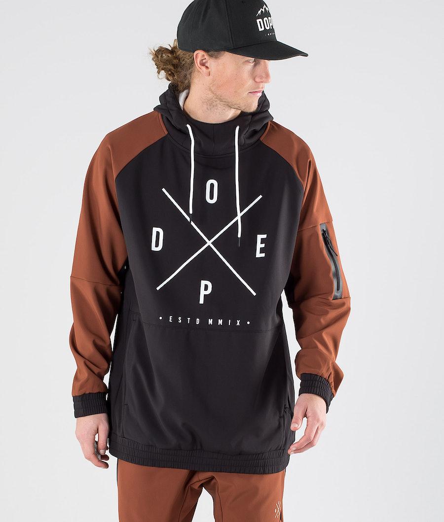 Dope Rambler Jacke Adobe/Black