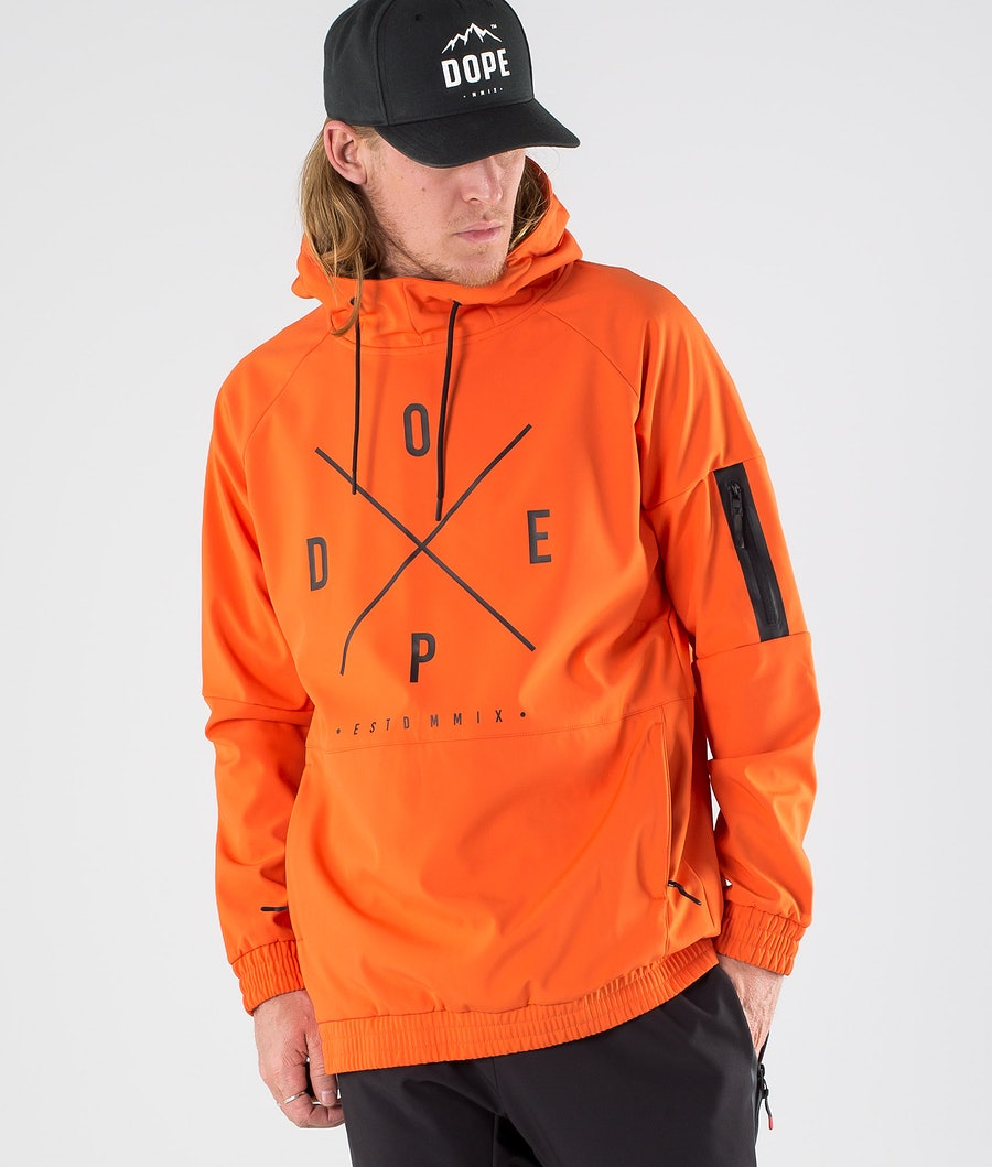 Dope Rambler Outdoor Jacket Orange