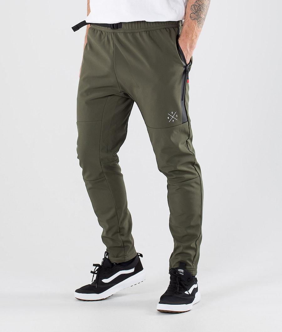 Dope Rambler Pantalon randonnée Green