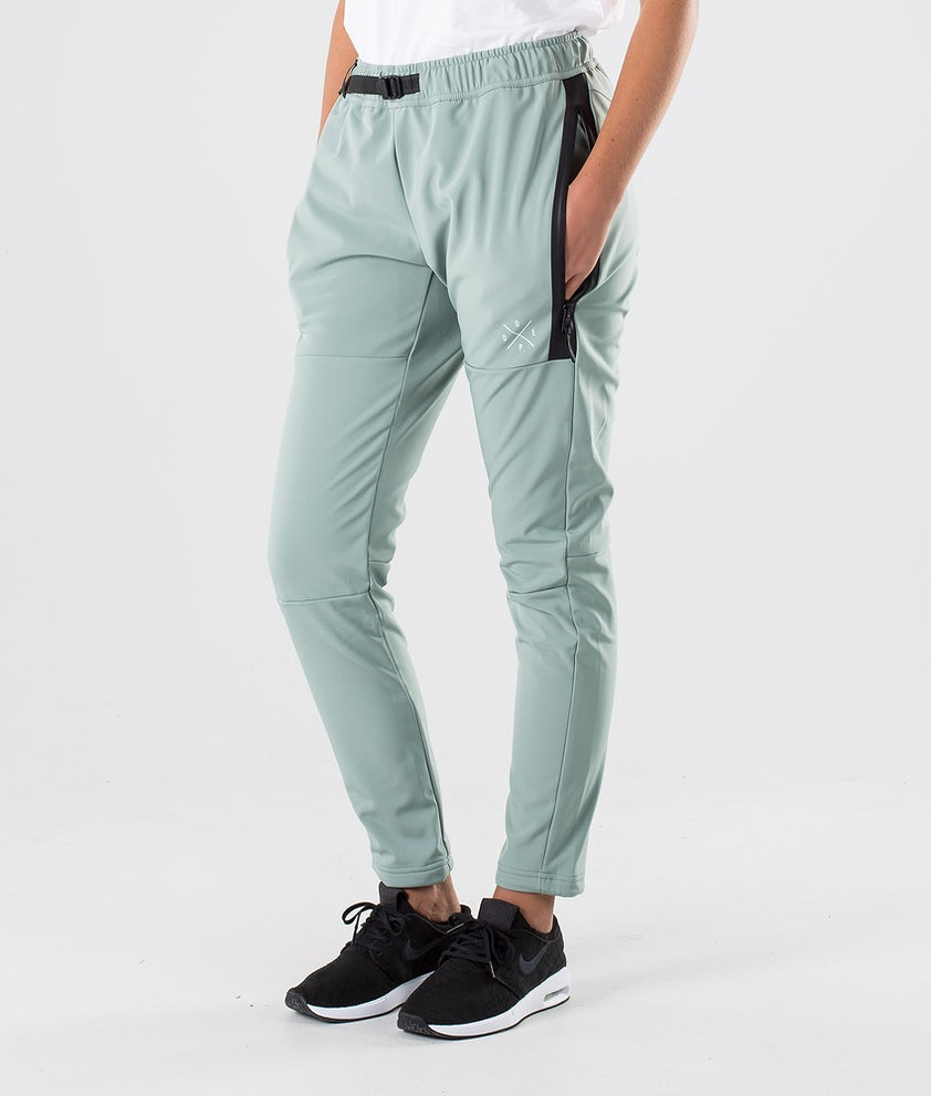 Dope Rambler W Outdoor Trousers Faded Green
