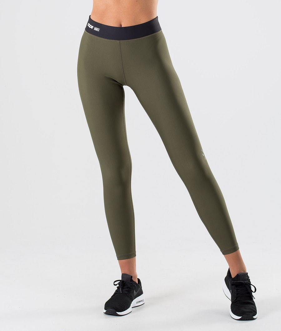 Dope Razor Leggings Damen Green