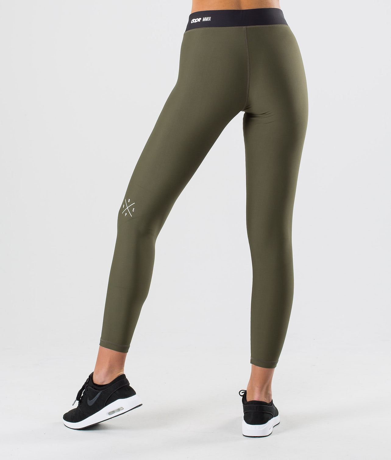 Dope Razor Leggings Green