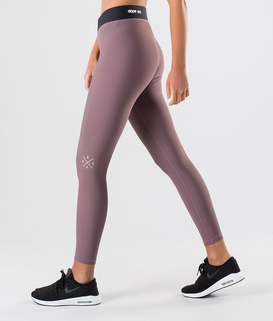 Dope Razor Leggings Dam Faded Grape