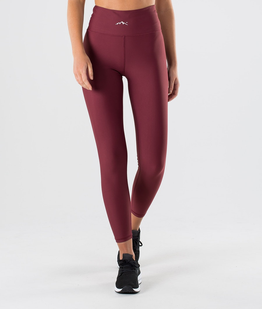 Dope Lofty Leggings Burgundy