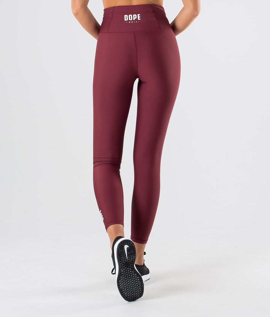 Dope Lofty Leggings Dam Burgundy