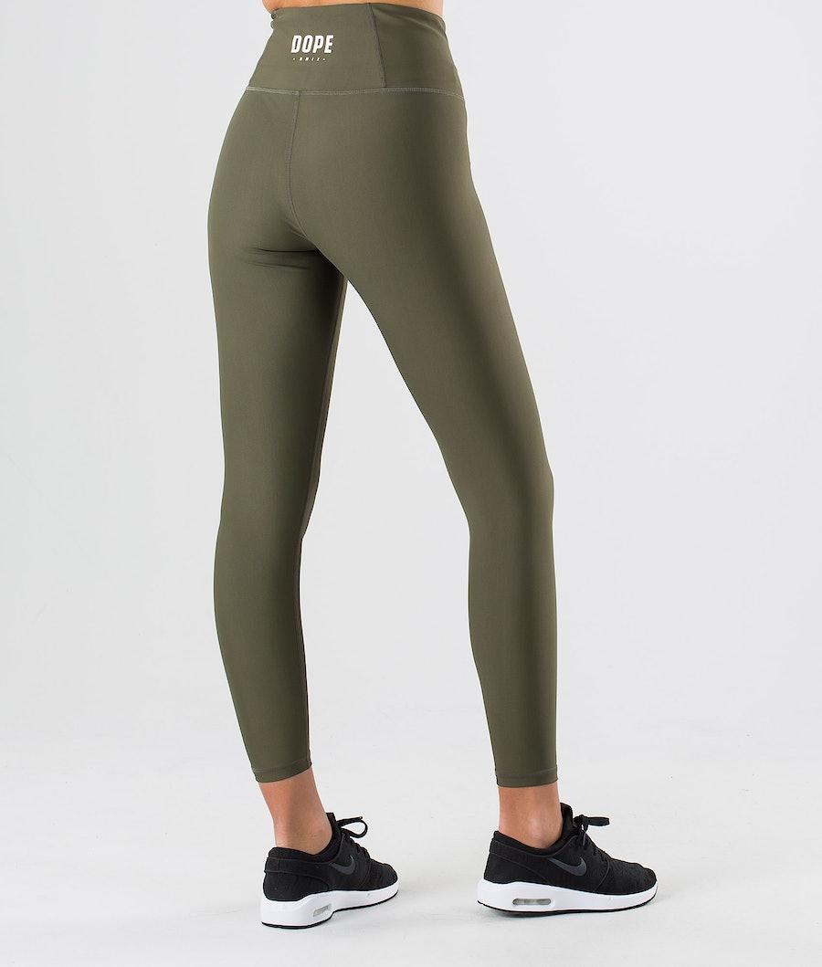 Dope Lofty Women's Leggings Green