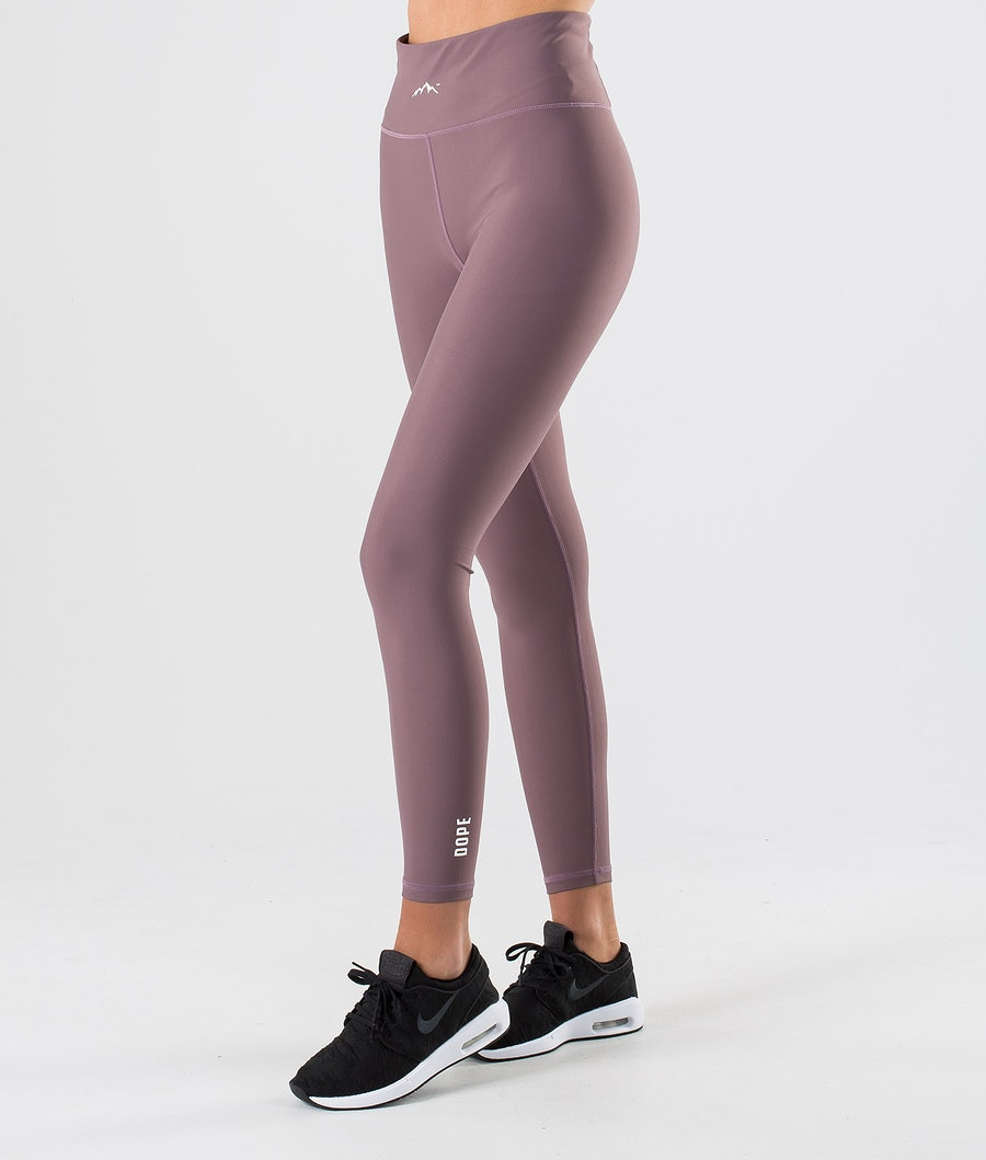 Dope Lofty Leggings Faded Grape