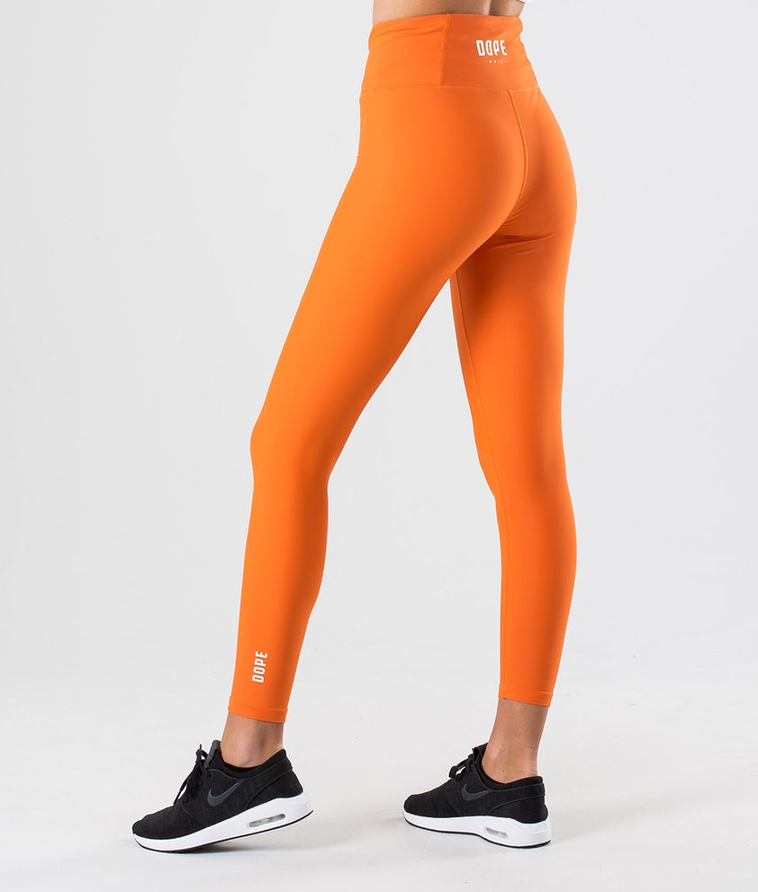 Dope Lofty Leggings Faded Orange