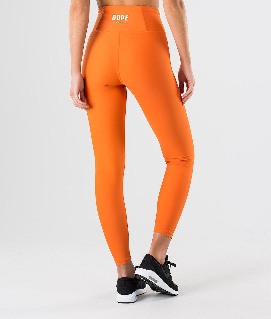 Dope Lofty Leggings Dam Faded Orange
