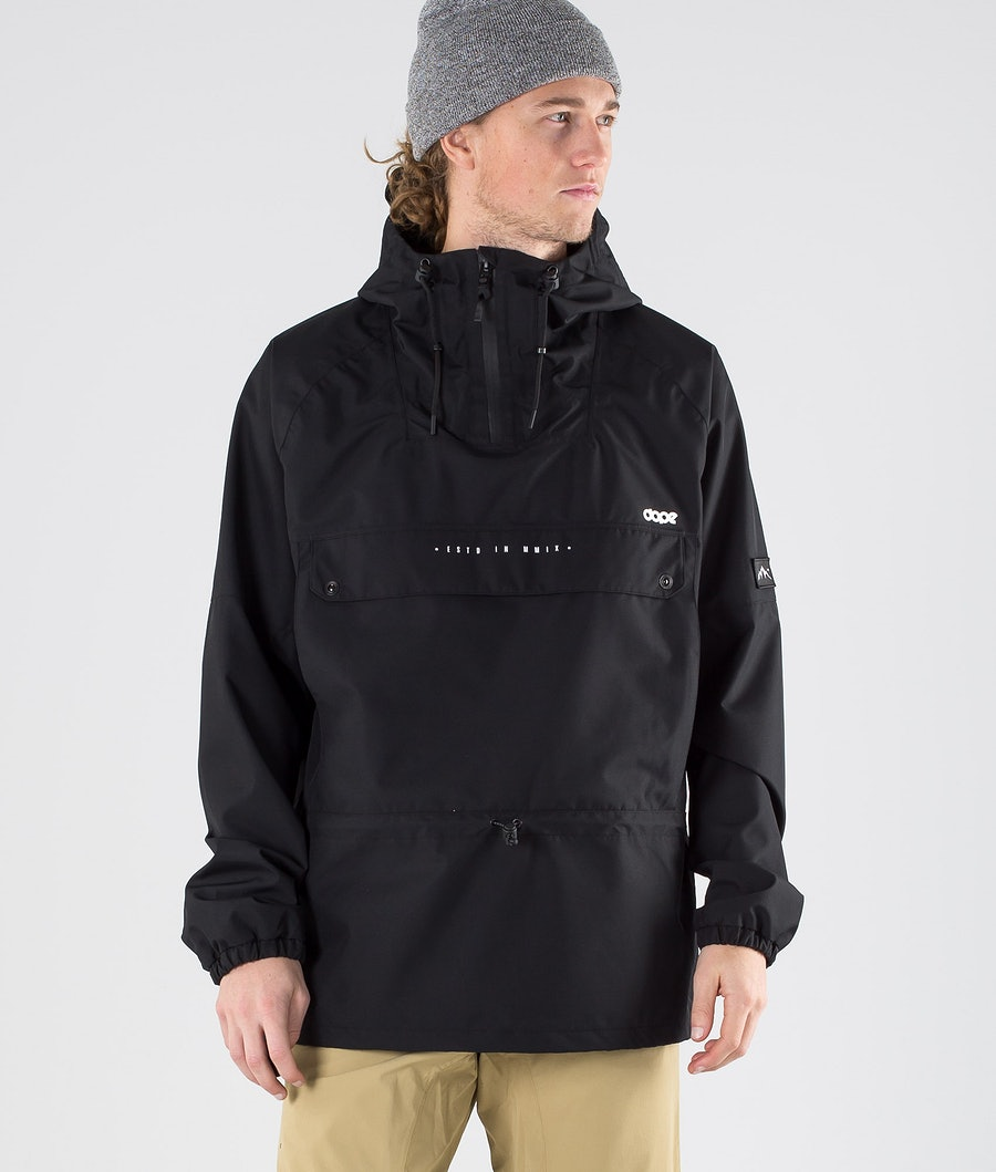 Dope Hiker Outdoor Jacket Black