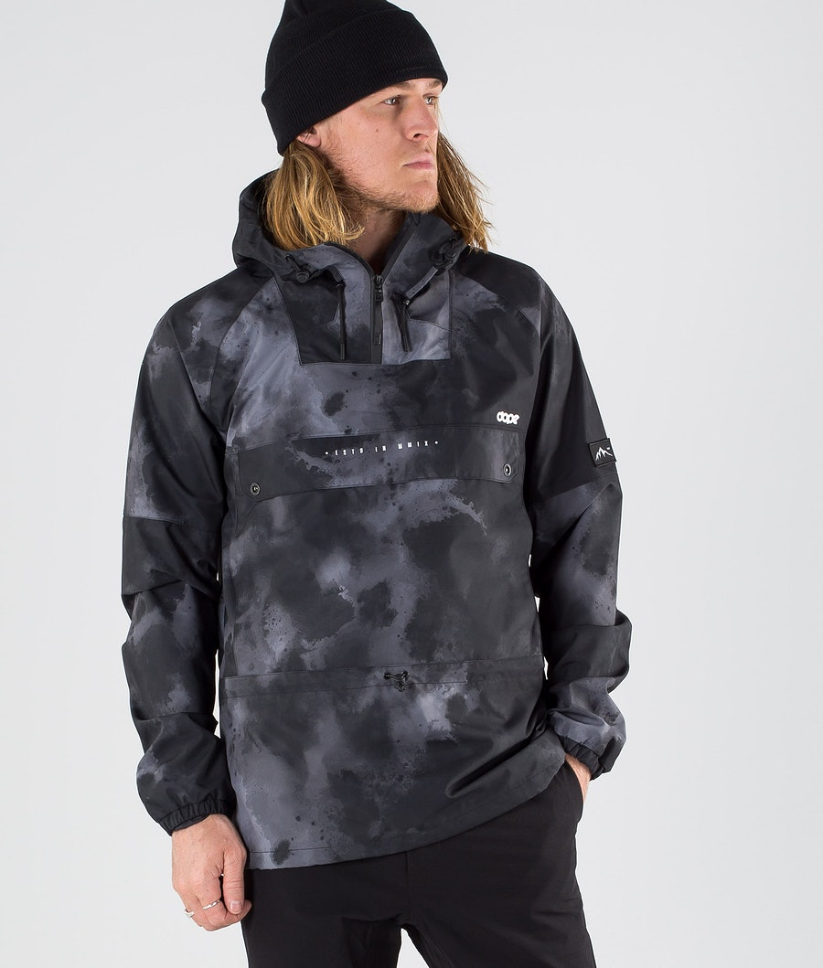 Dope Hiker Outdoor Jacket Black Batic
