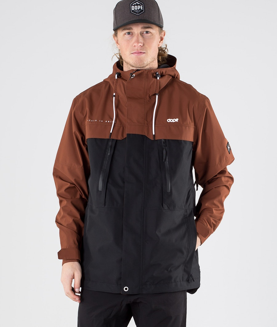 Dope Trekker Outdoor Jacket Adobe Black