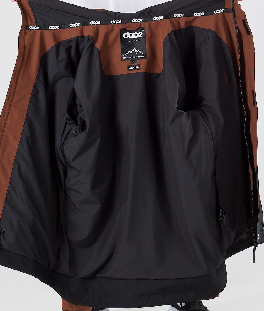 Dope Trekker Giacca Outdoor Adobe Black