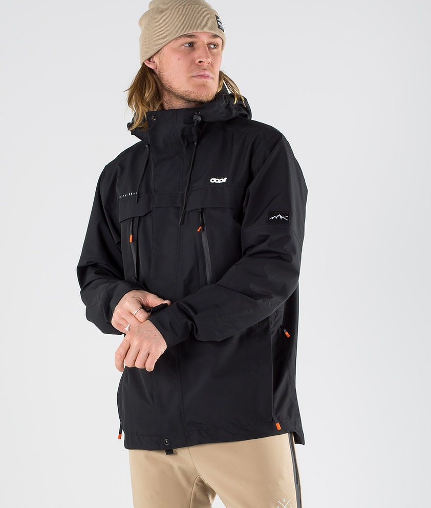 Dope Trekker Outdoor Jacka Black