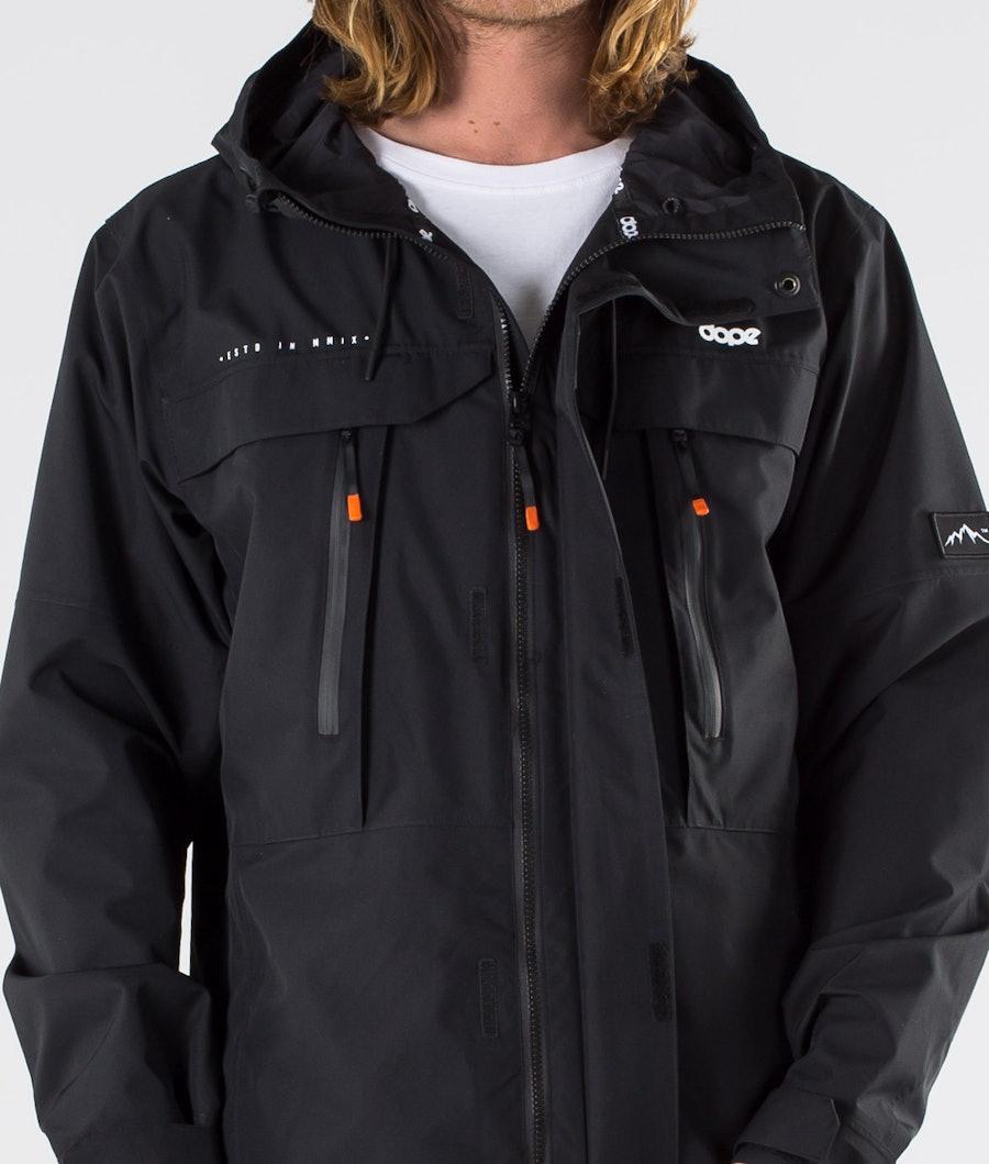 Dope Trekker Outdoor Jas Black