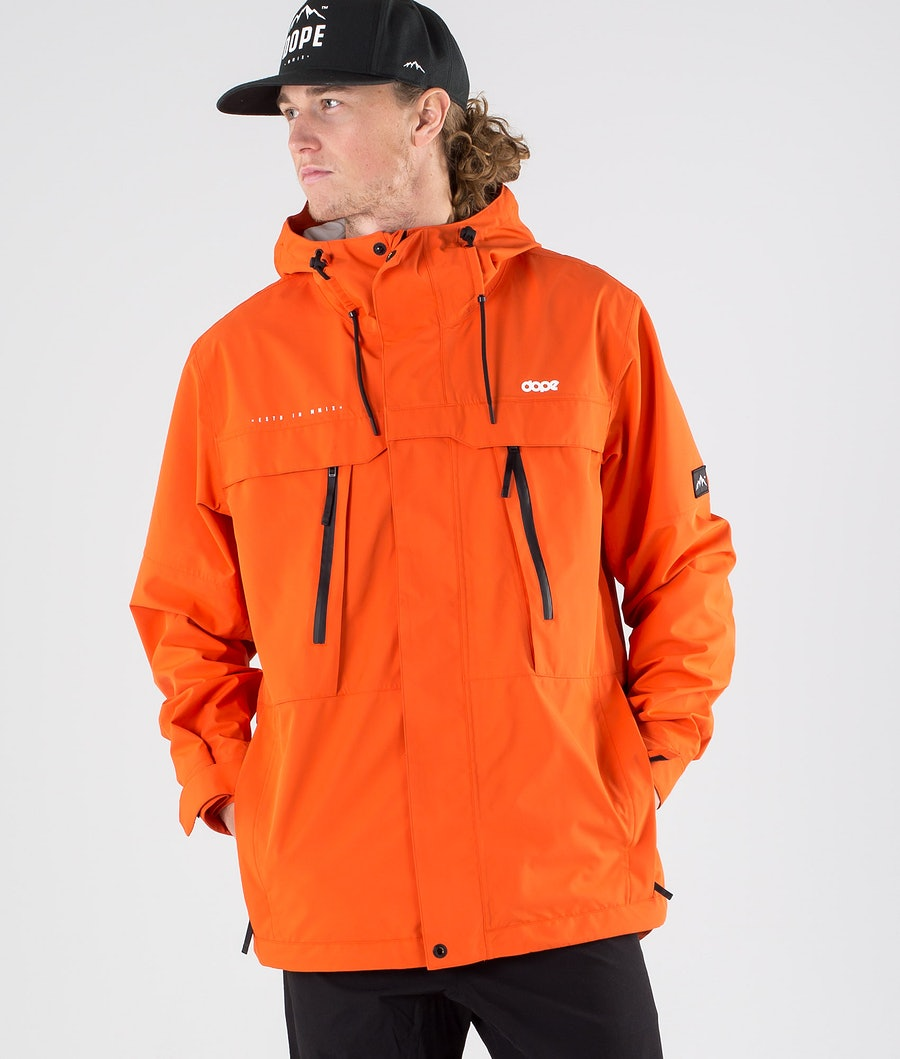 Dope Trekker Outdoor Jacket Orange