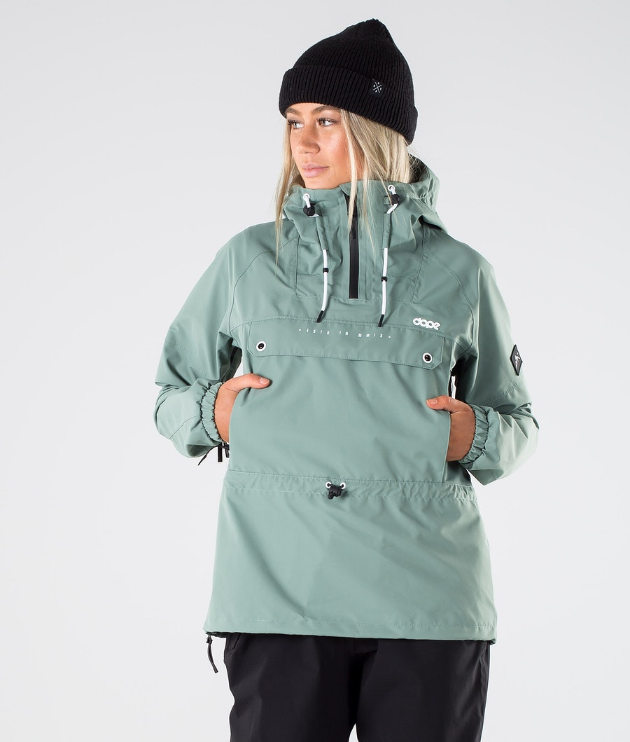 Dope Hiker W Outdoorjacke Faded Green