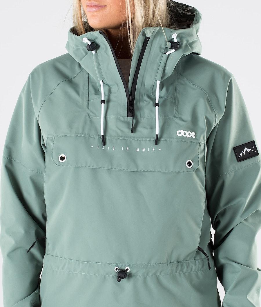 Dope Hiker W Women's Outdoor Jacket Faded Green