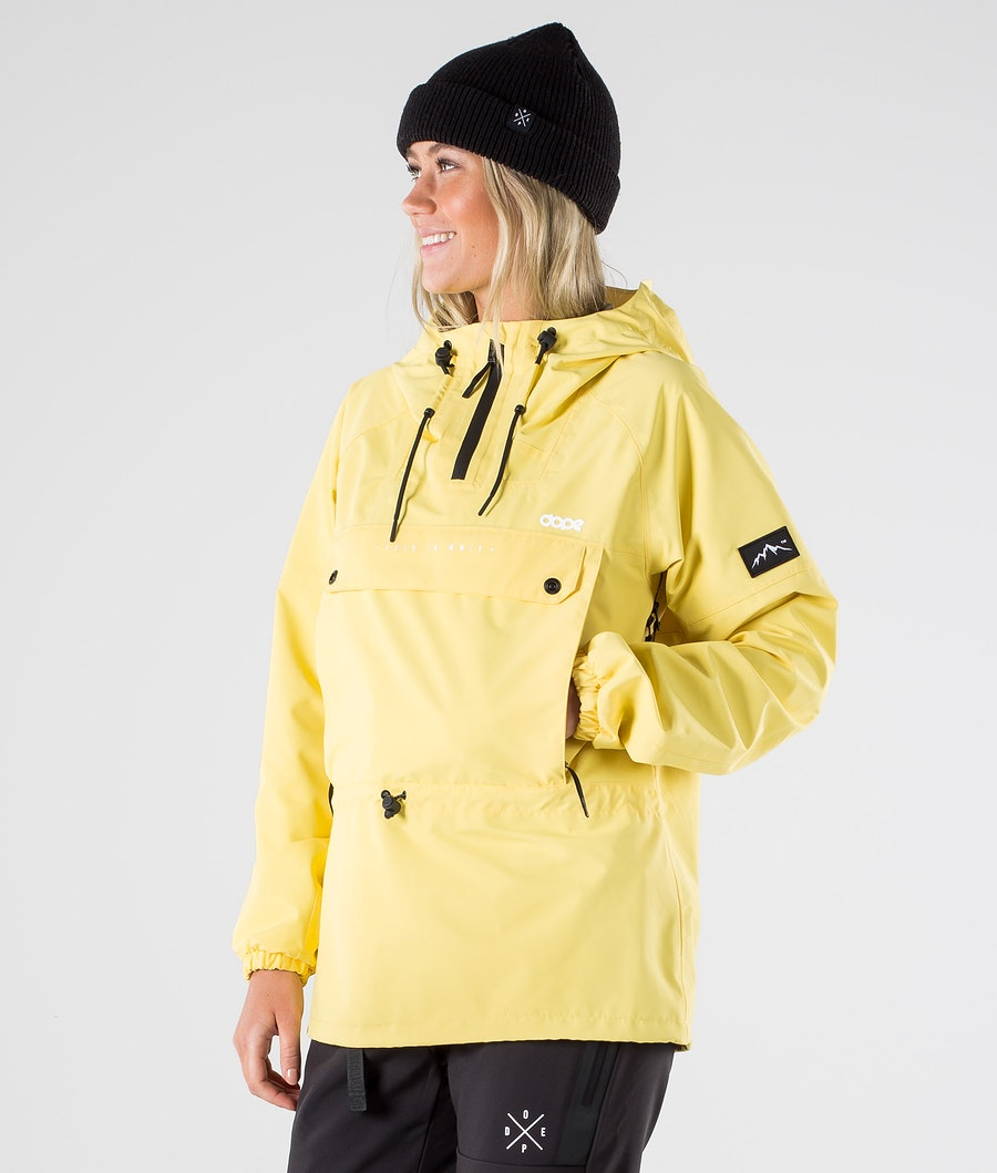 Dope Hiker W Ulkoilutakki Yellow
