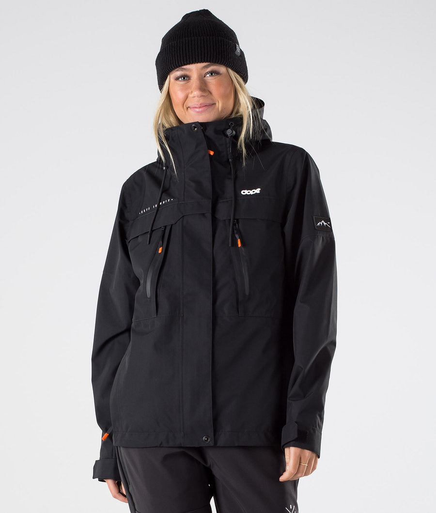 Dope Trekker W Outdoorjacke Black