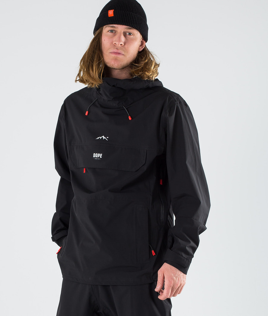 Dope Drizzard Outdoorjacke Black