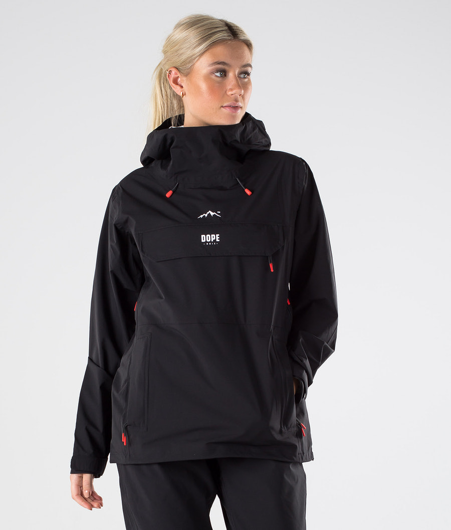 Dope Drizzard W Outdoorjacke Black