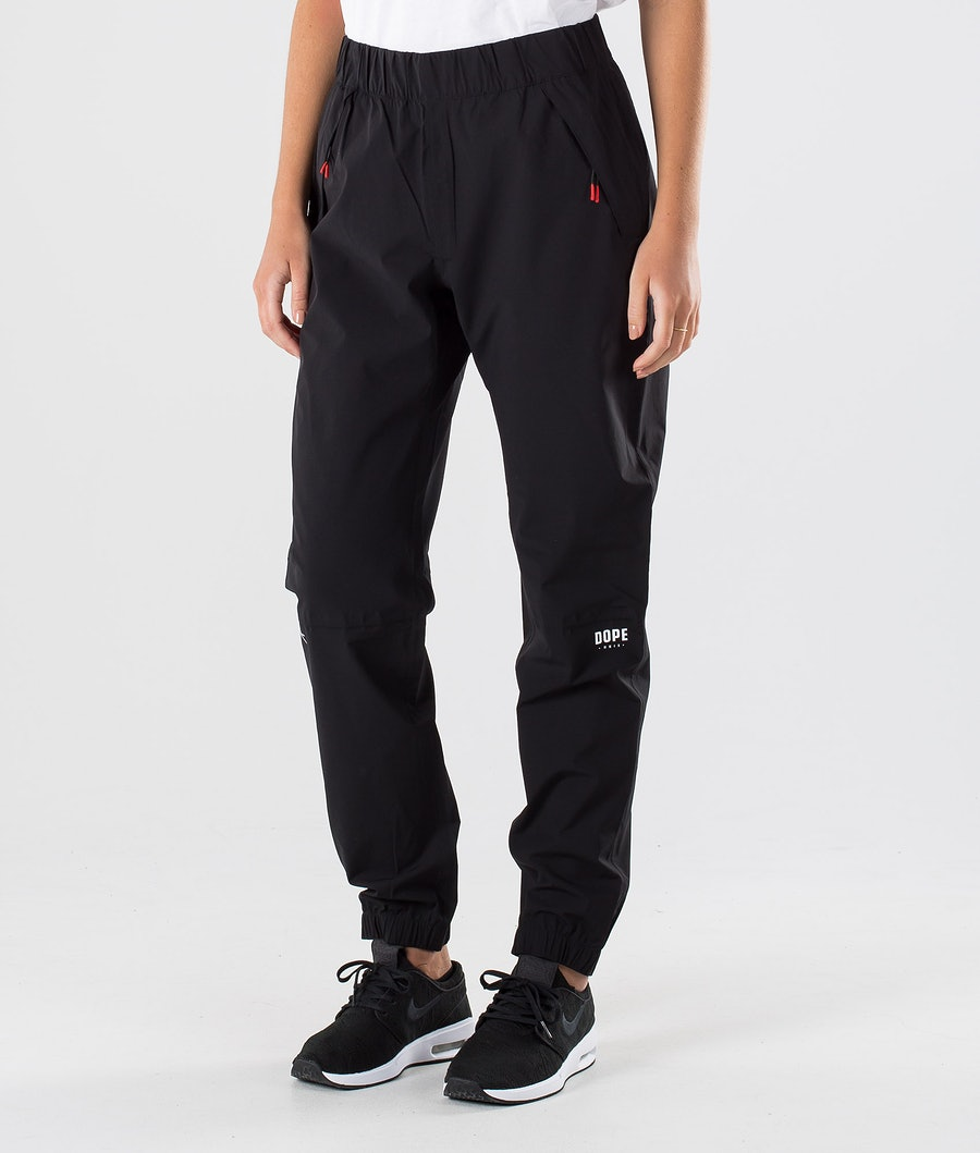 Dope Drizzard pants W Pantalon de pluie Black