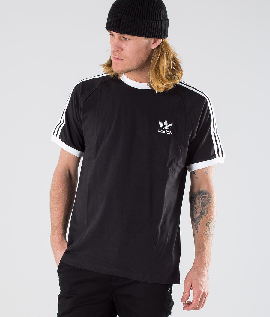 Adidas Originals 3-Stripes Tee T-shirt Black