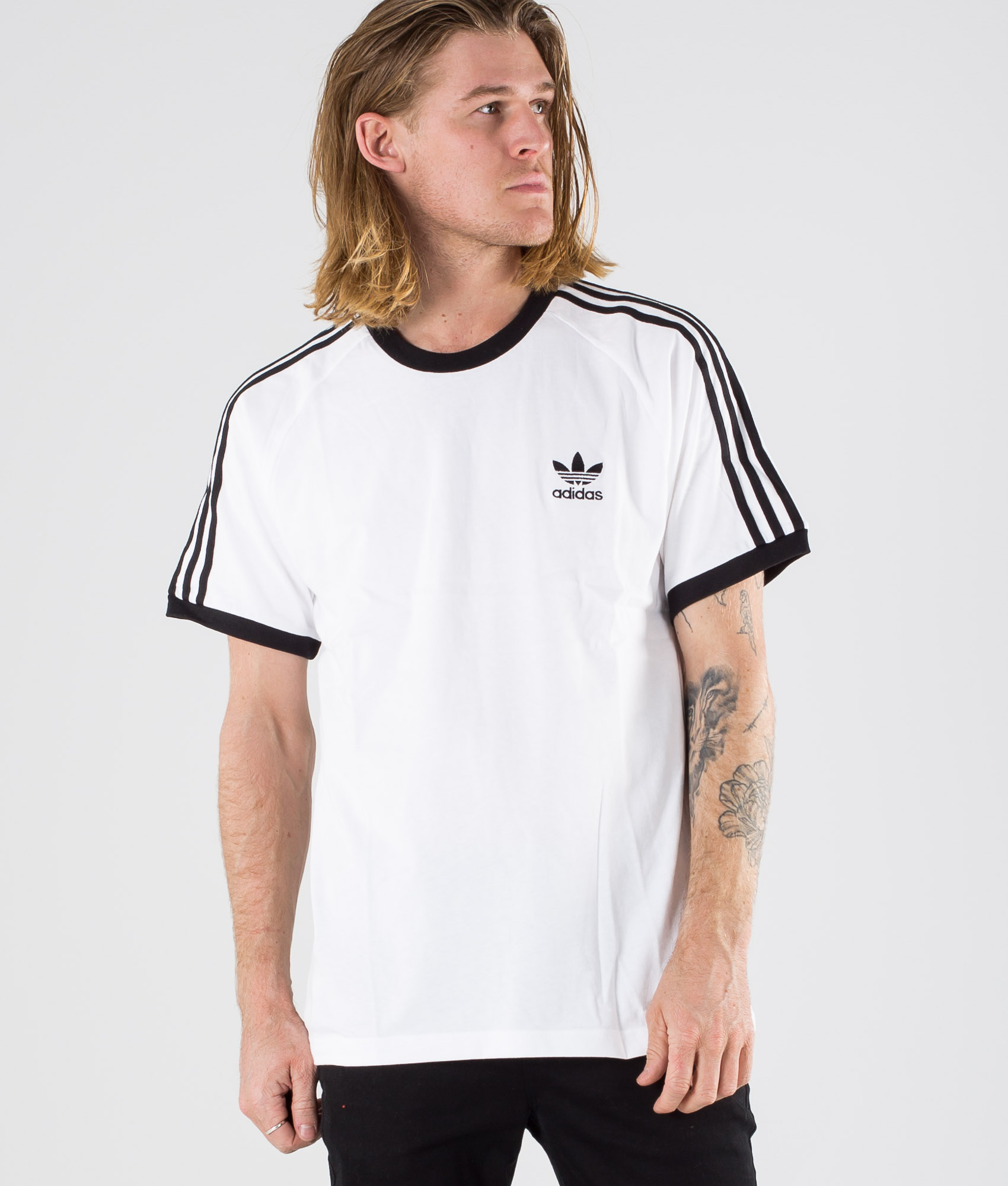 tee shirt adidas 3 stripes