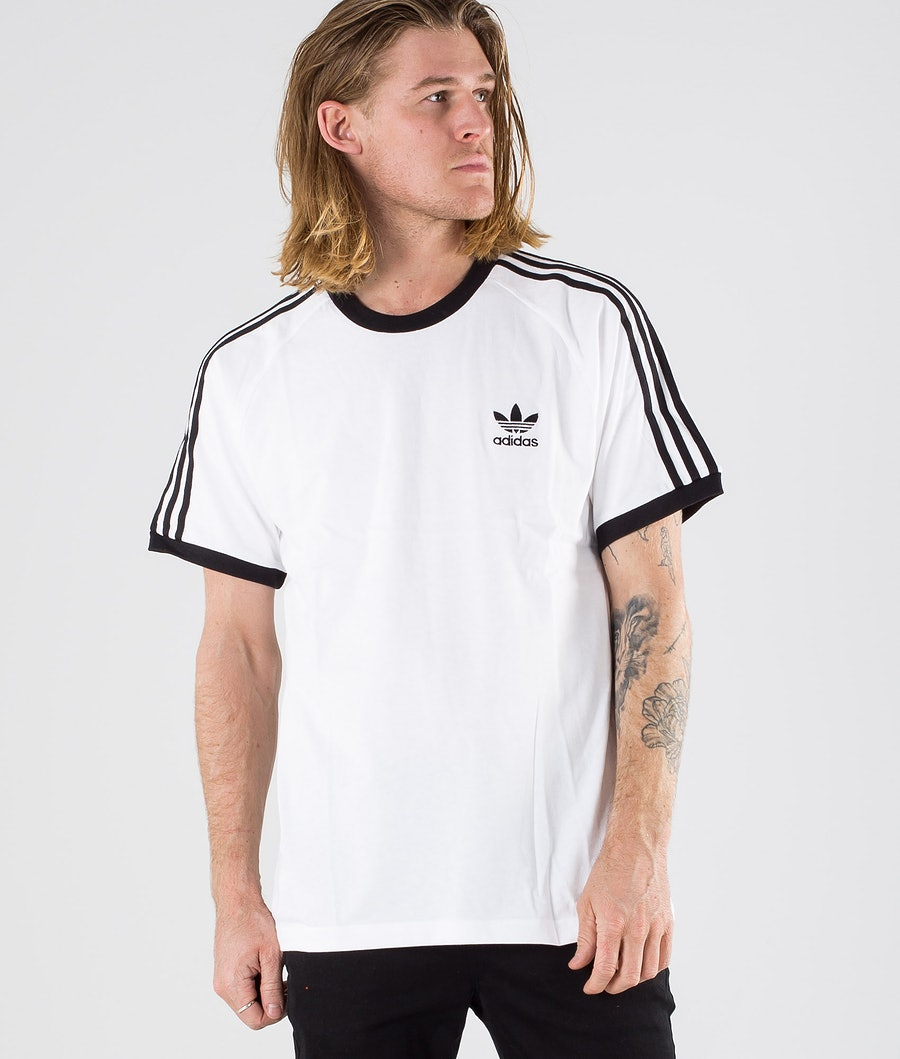 Adidas Originals 3-Stripes T-shirt White