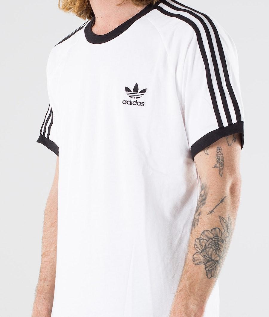 Adidas Originals 3-Stripes T-shirt White