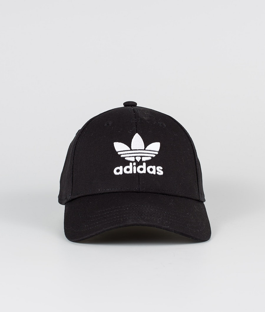 Adidas Originals Baseball Class Trefoil   Caps Black/White
