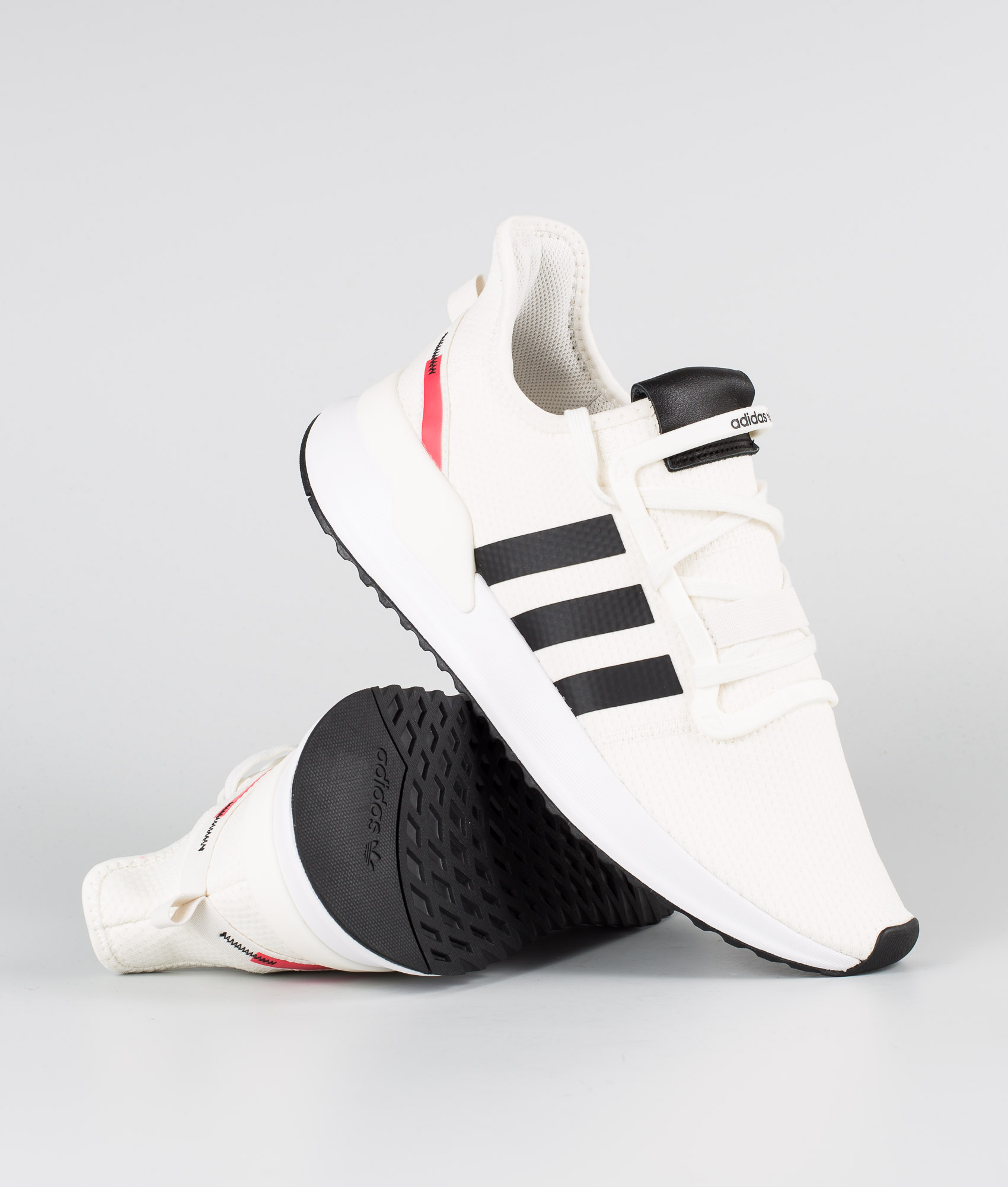 Adidas Originals U_Path Run Chaussures Off WhiteCore BlackShock Red