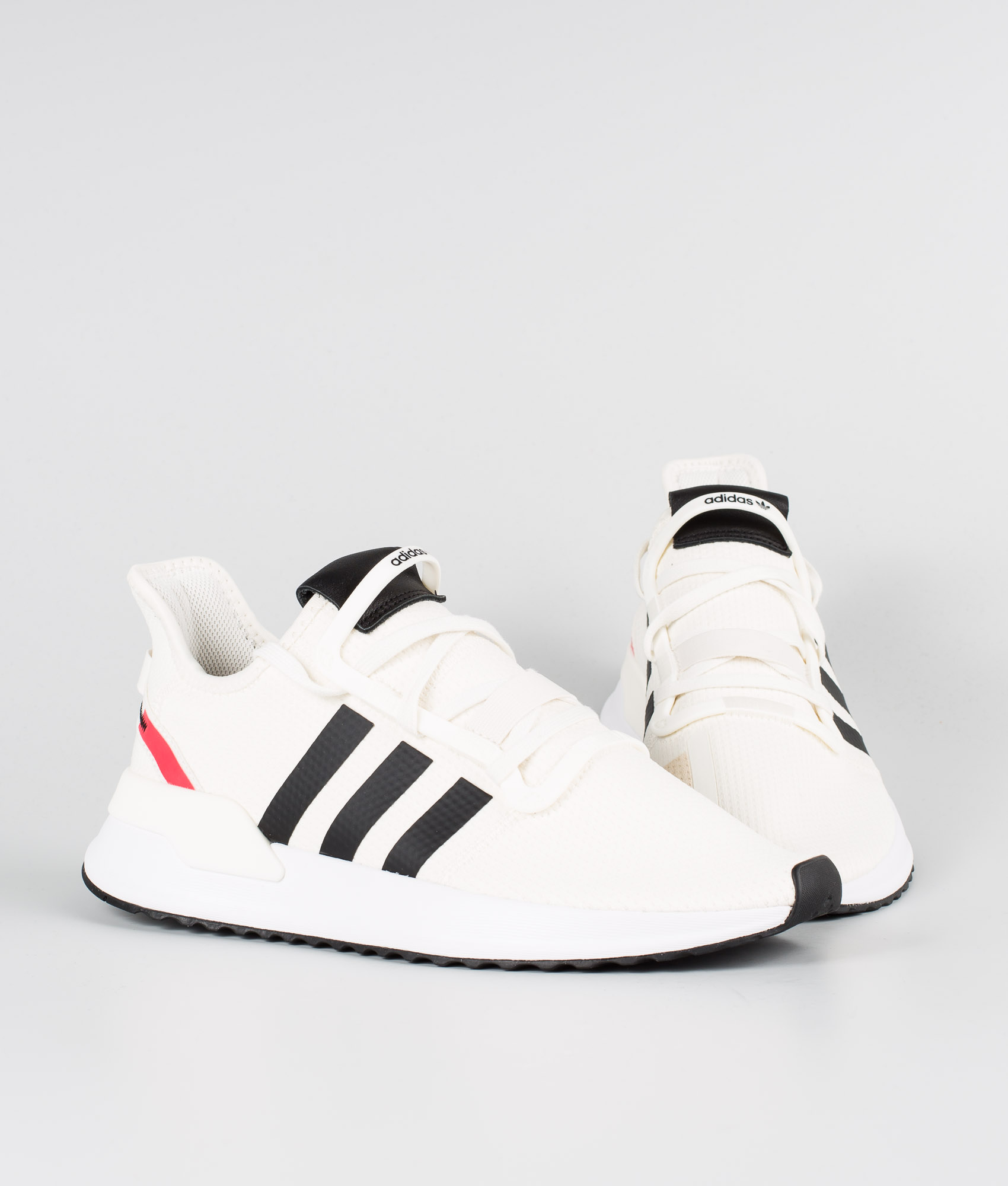 Adidas Originals U_Path Run Sko Off WhiteCore BlackShock Red