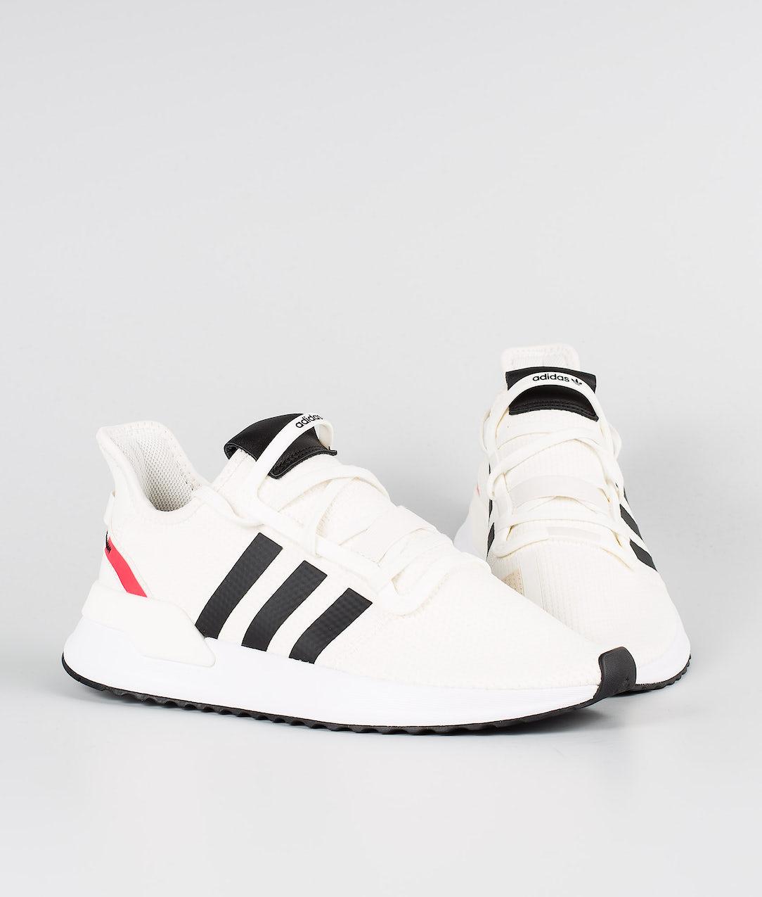 mejor precio para venta más caliente nuevo estilo de Adidas Originals U_Path Run Shoes Off White/Core Black/Shock Red ...