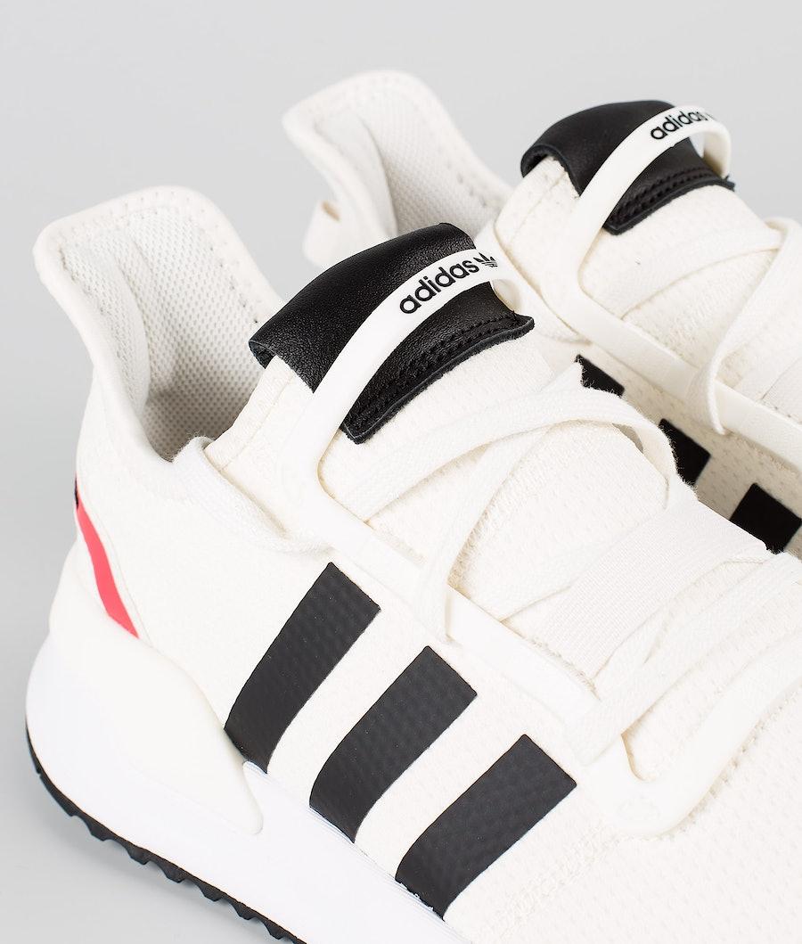 Adidas Originals U_Path Run      Sko Off White/Core Black/Shock Red