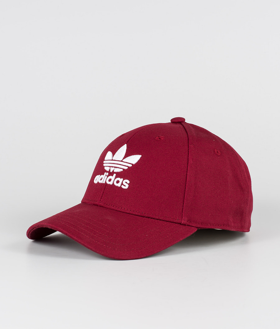 Adidas Originals Baseball Class Trefoil      Lippis Collegiate Burgundy/White