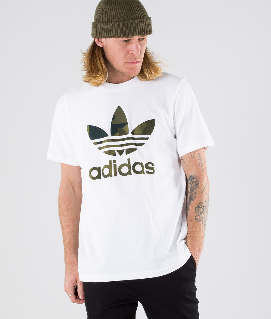 Adidas Originals Camouflag Infill Tee      T-shirt White/Multicolour