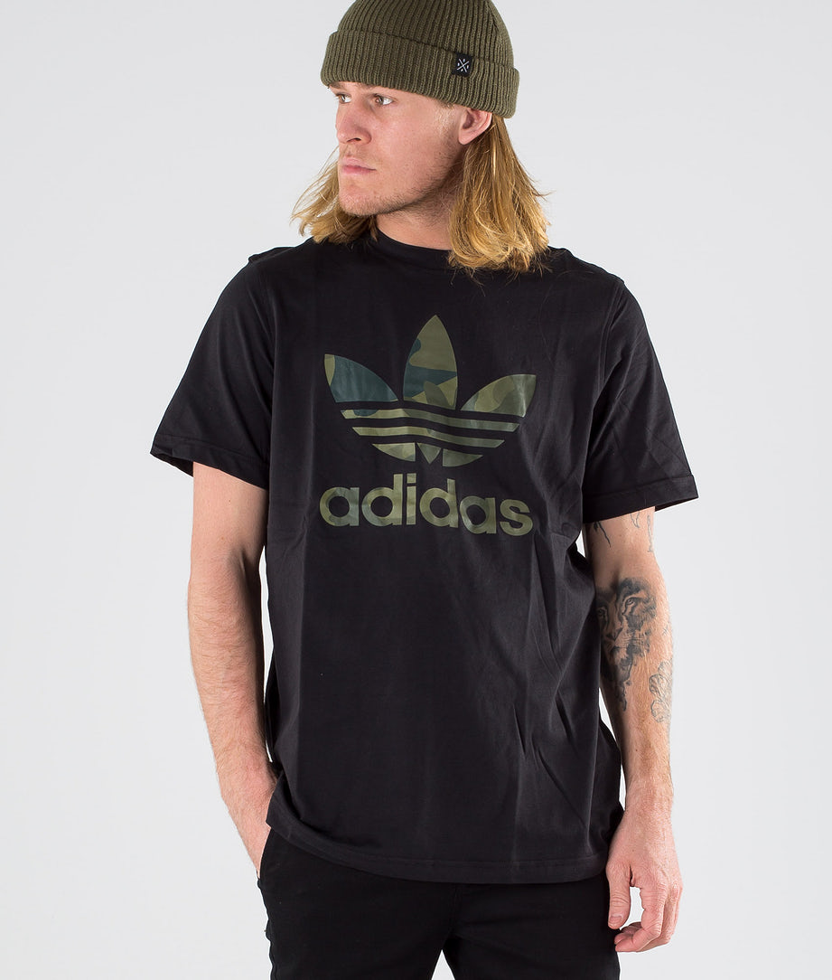 Adidas Originals Camouflag Infill Tee      T-shirt Black/Multicolour