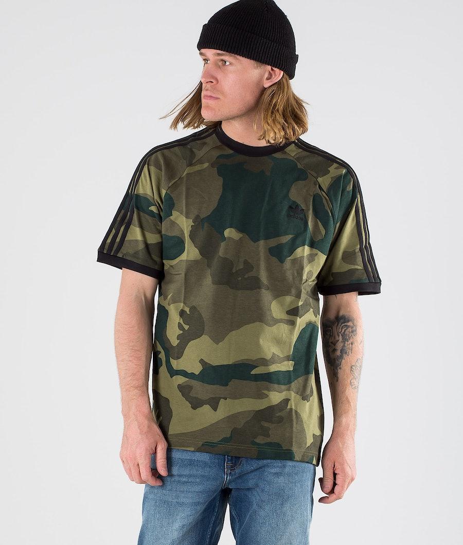 Adidas Originals Camouflage Cali Tee T-shirt Multicolour