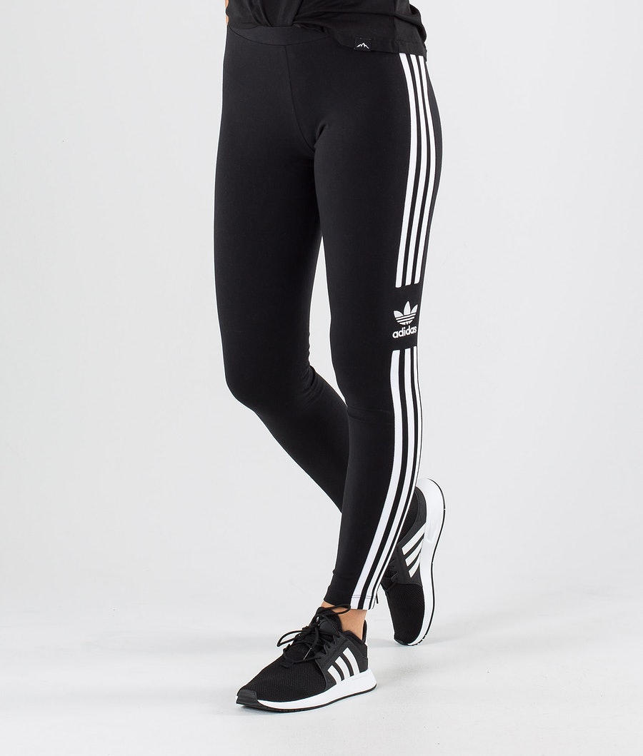 Adidas Originals Trefoil Tight        Leggings Black