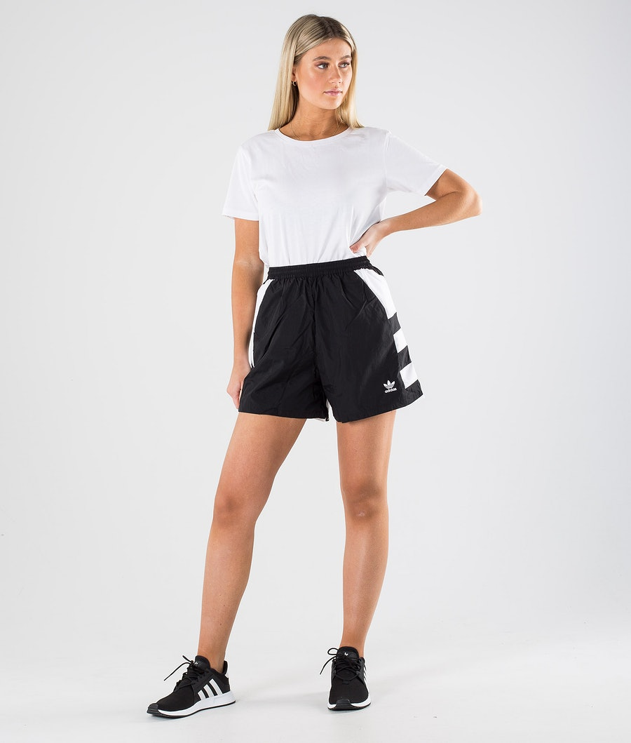 Adidas Originals Lrg Logo Short    Shorts Damen Black/White