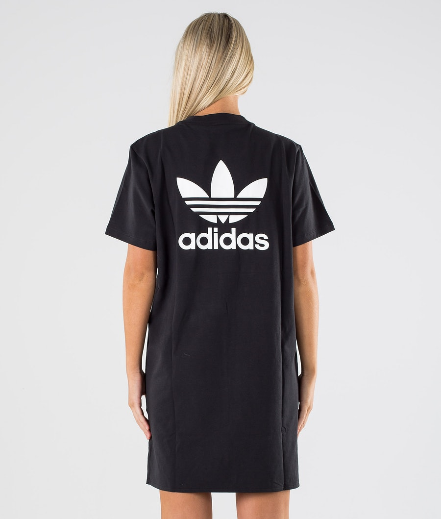 Adidas Originals Trefoil Dress      Kjole Dame Black/White
