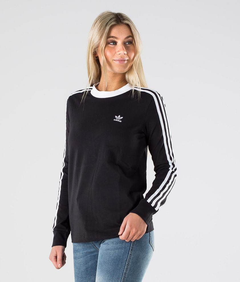 Adidas Originals 3 Stripes Longsleeve Black/White