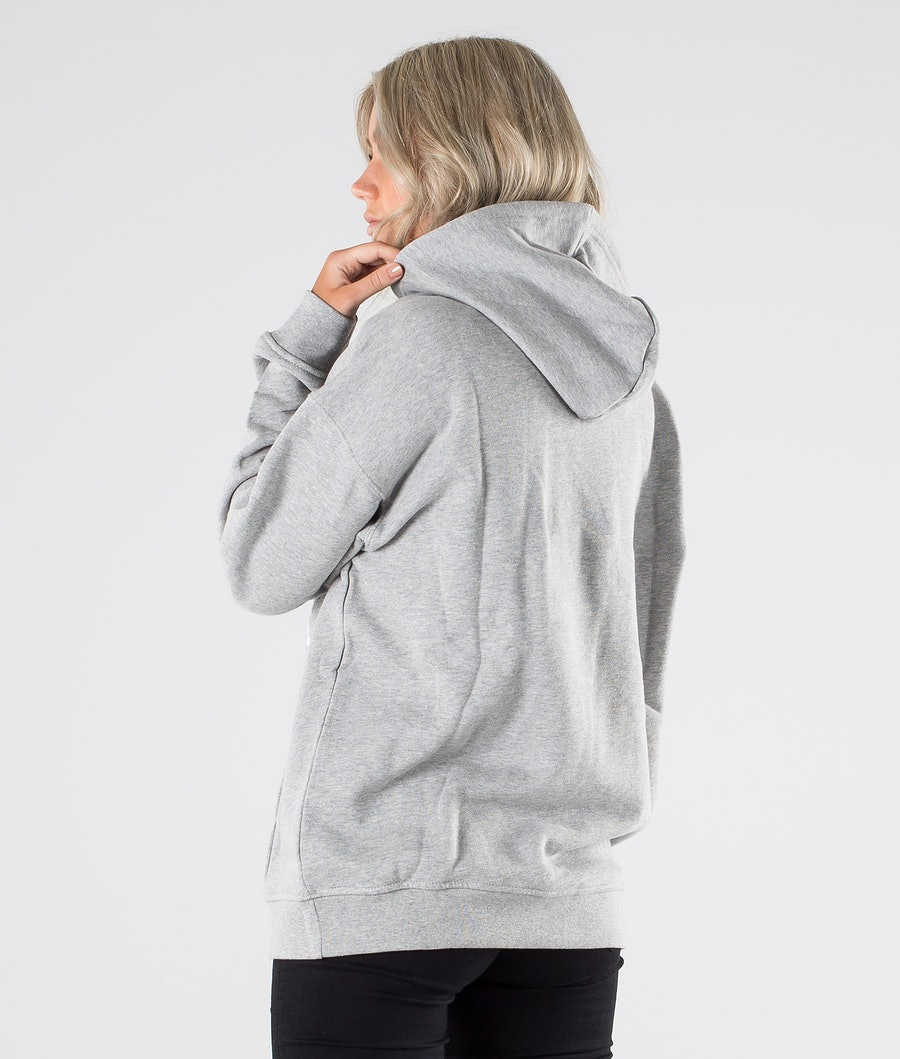 Adidas Originals Trefoil Hoodie      Hoodie Damen Medium Grey Heather/White