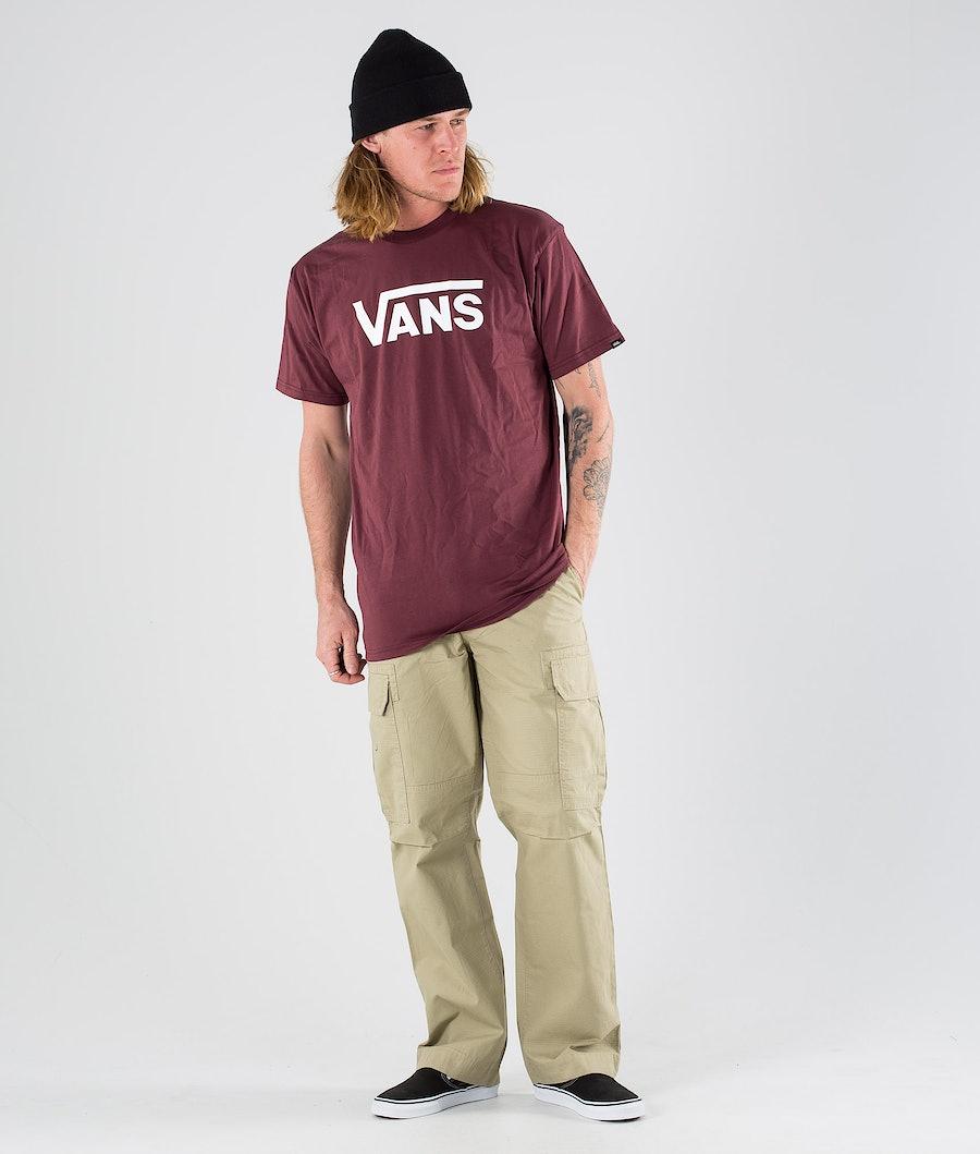 Vans Classic T-shirt Port Royale/White